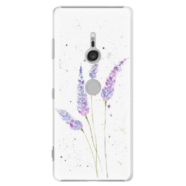 Plastové pouzdro iSaprio - Lavender - Sony Xperia XZ3