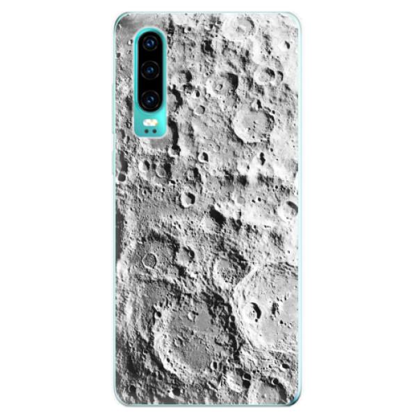 Odolné silikonové pouzdro iSaprio - Moon Surface - Huawei P30