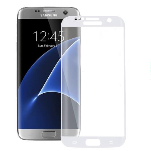 Tvrzené 3D sklo Haweel pro Samsung Galaxy S7 Edge bílé