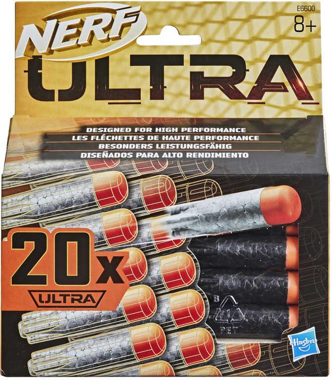 HASBRO NERF Ultra náhradní munice šipky pěnové do pistole set 20ks