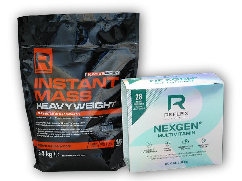 Instant Mass Heavy Weight 5400g + Nexgen