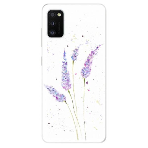 Odolné silikonové pouzdro iSaprio - Lavender - Samsung Galaxy A41