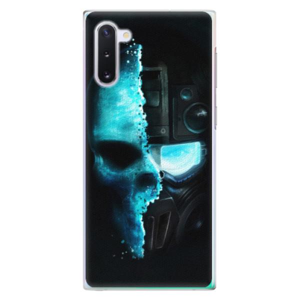 Plastové pouzdro iSaprio - Roboskull - Samsung Galaxy Note 10