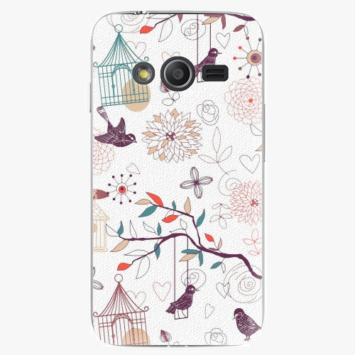 Plastový kryt iSaprio - Birds - Samsung Galaxy Trend 2 Lite