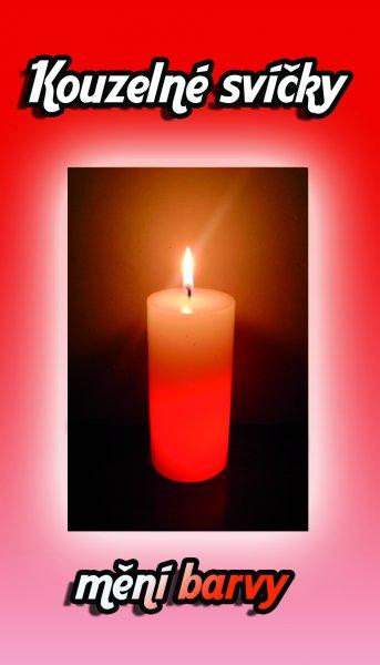 Kouzelná svíčka - válec