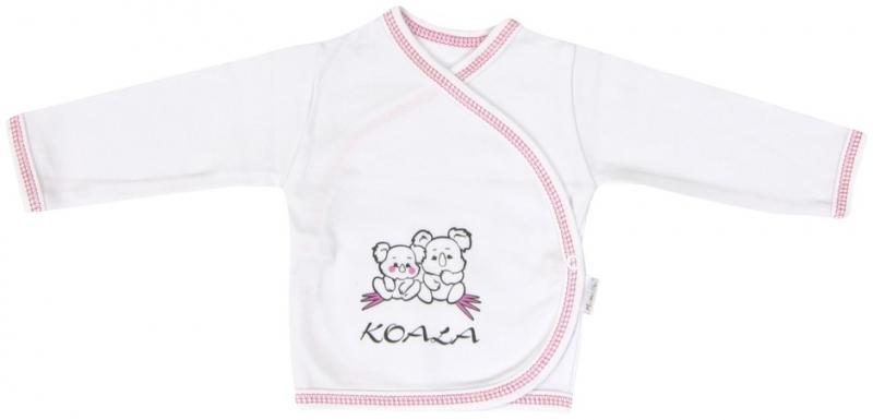 Košilka Mamatti KOALA - zapínání bokem - 56 (1-2m)