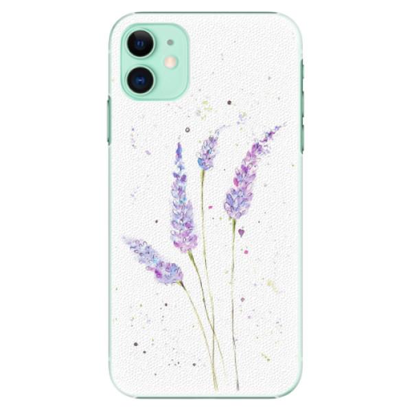 Plastové pouzdro iSaprio - Lavender - iPhone 11