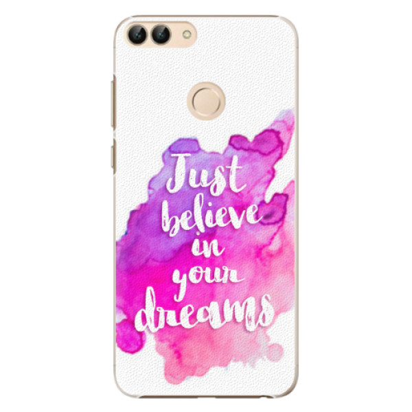 Plastové pouzdro iSaprio - Believe - Huawei P Smart