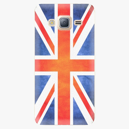 Plastový kryt iSaprio - UK Flag - Samsung Galaxy J3