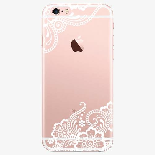 Plastový kryt iSaprio - White Lace 02 - iPhone 6 Plus/6S Plus