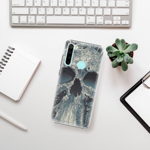 Plastové pouzdro iSaprio - Abstract Skull - Xiaomi Redmi Note 8