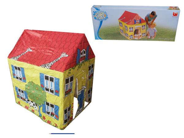 BESTWAY Domek 52007 žlutý 102x76x114cm