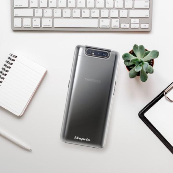 Plastové pouzdro iSaprio - 4Pure - mléčný bez potisku - Samsung Galaxy A80