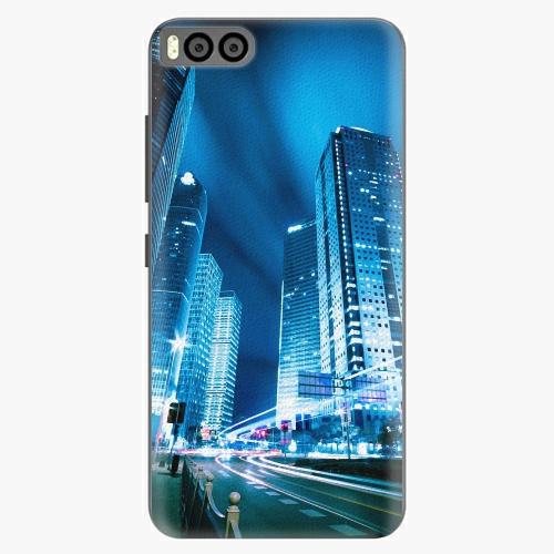 Plastový kryt iSaprio - Night City Blue - Xiaomi Mi6
