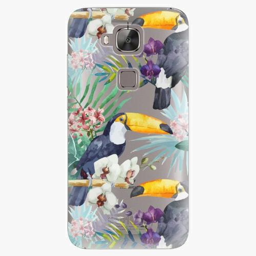 Plastový kryt iSaprio - Tucan Pattern 01 - Huawei Ascend G8