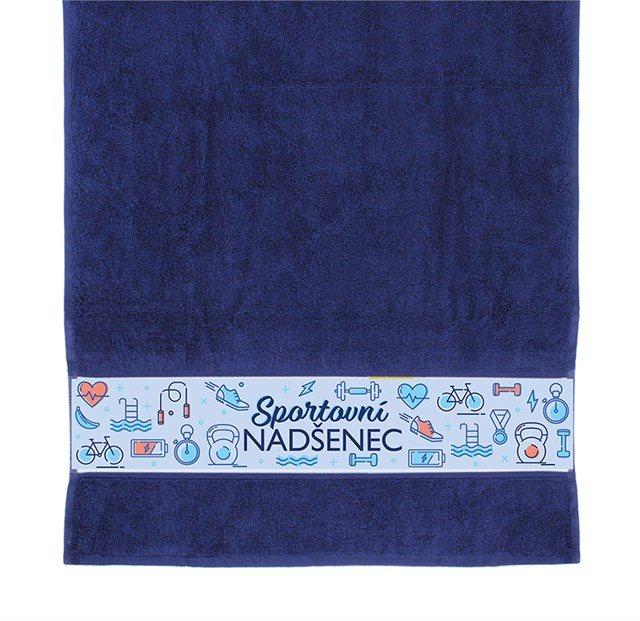 Dárkové ručníky - Ručník - Sportovní nadšenec