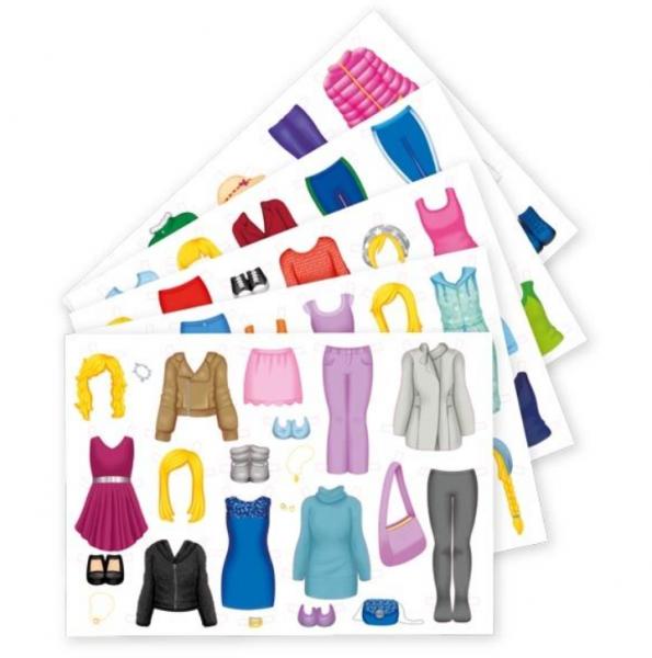Goki Retro papírová oblékací Panenka