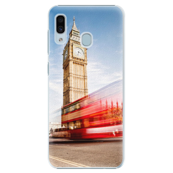 Plastové pouzdro iSaprio - London 01 - Samsung Galaxy A20