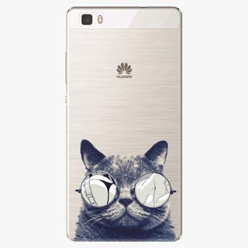 Plastový kryt iSaprio - Crazy Cat 01 - Huawei Ascend P8 Lite