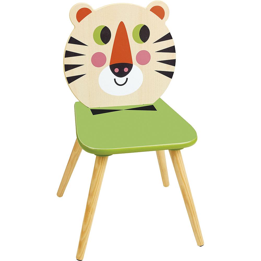 Vilac Dřevěná židle Tygr