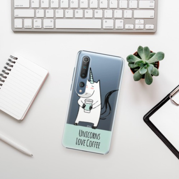 Plastové pouzdro iSaprio - Unicorns Love Coffee - Xiaomi Mi 10 / Mi 10 Pro