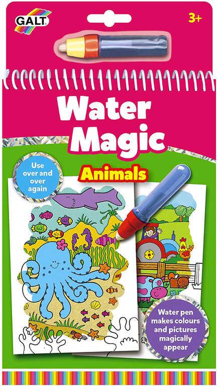 ADC Zvířátka vodní magie kouzelné obrázky 6ks set s vodním perem