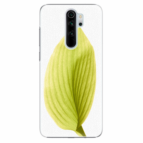 Plastový kryt iSaprio - Green Leaf - Xiaomi Redmi Note 8 Pro