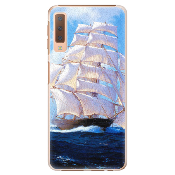 Plastové pouzdro iSaprio - Sailing Boat - Samsung Galaxy A7 (2018)