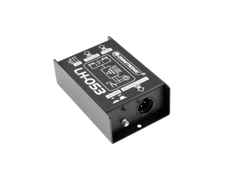 Omnitronic LH-053, konvertor signálu