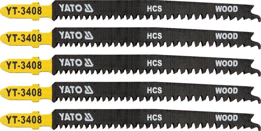 List pilový do přímočaré pily na dřevo typ T 13-8TPI,5 ks
