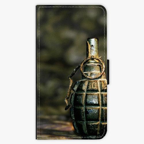 Flipové pouzdro iSaprio - Grenade - Sony Xperia XZ