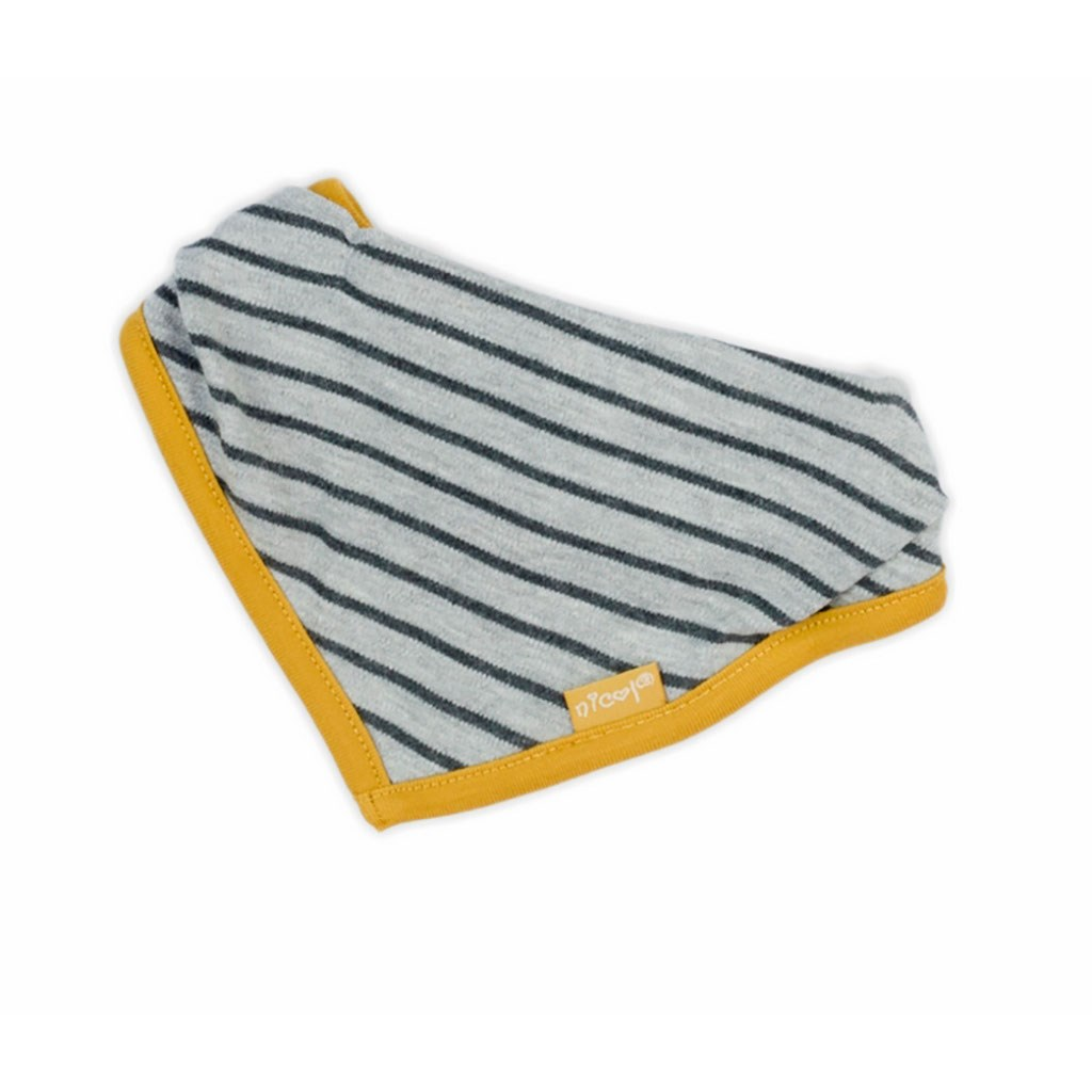 Kojenecký šátek na krk Nicol Prince Lion - šedá/univerzální