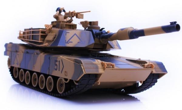 Abrams 1/24 - airsoft, zvuk - HQ