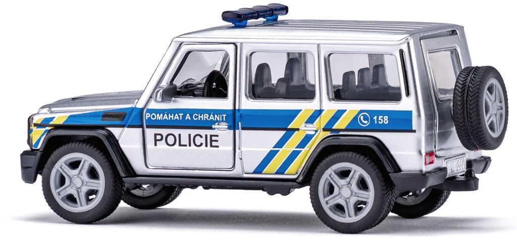 SIKU Super auto česká Policie Mercedes AMG G65 model kov CZ 2308