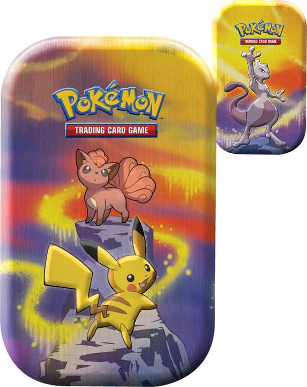 ADC Pokémon AW19 Kanto Power Mini Tin krabička plechová s kartami a mincí