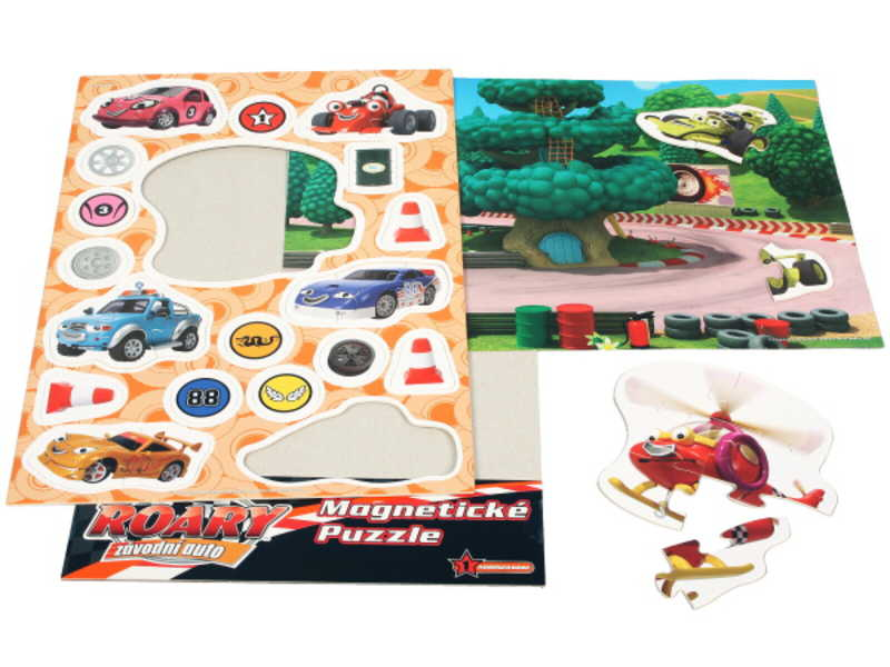EFKO Puzzle magnetické ROARY