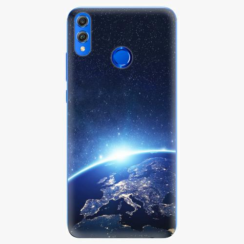 Silikonové pouzdro iSaprio - Earth at Night - Huawei Honor 8X