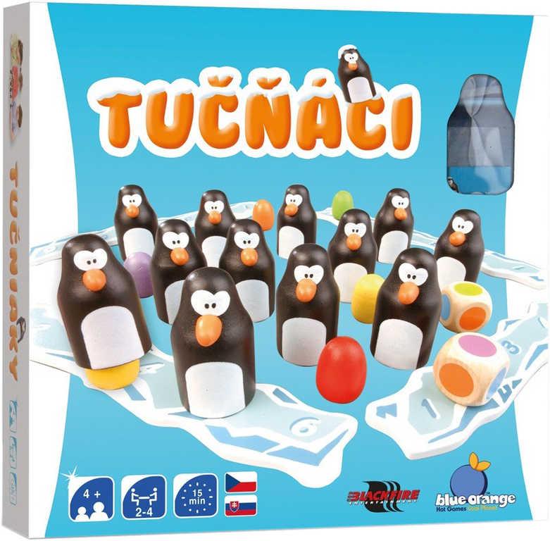 ADC DŘEVO Hra Tučňáci expedice na jižní pól *SPOLEČENSKÉ HRY*