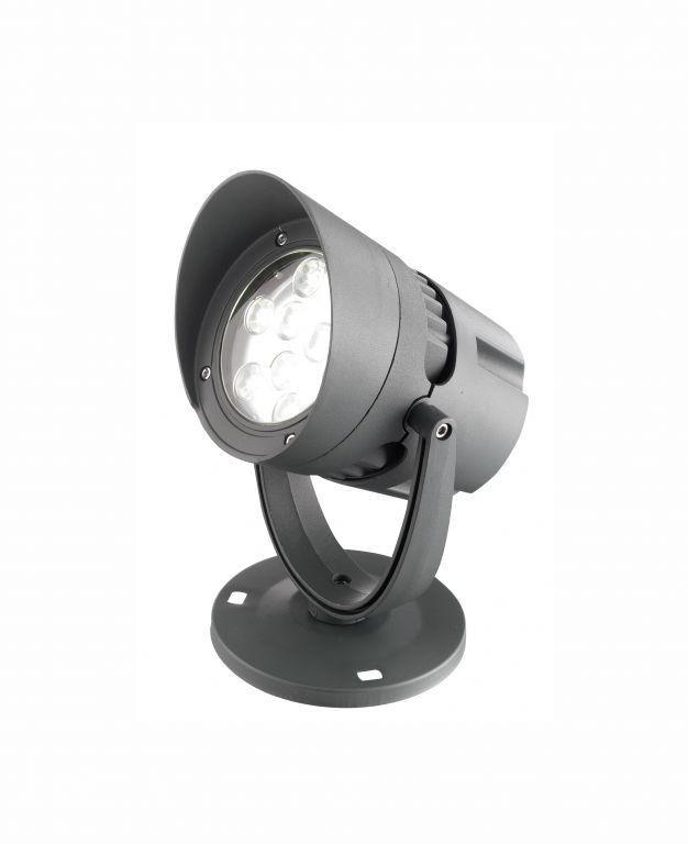 Reflektor Nova Luce šedý, IP 65, 18 W