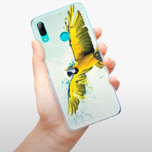 Odolné silikonové pouzdro iSaprio - Born to Fly - Huawei P Smart 2019