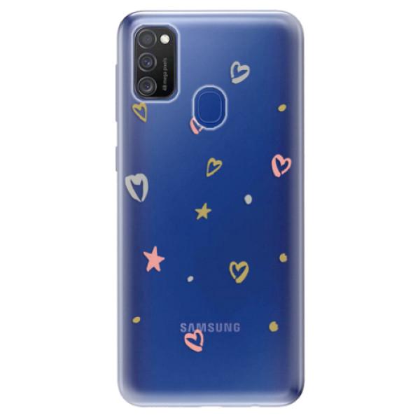Odolné silikonové pouzdro iSaprio - Lovely Pattern - Samsung Galaxy M21