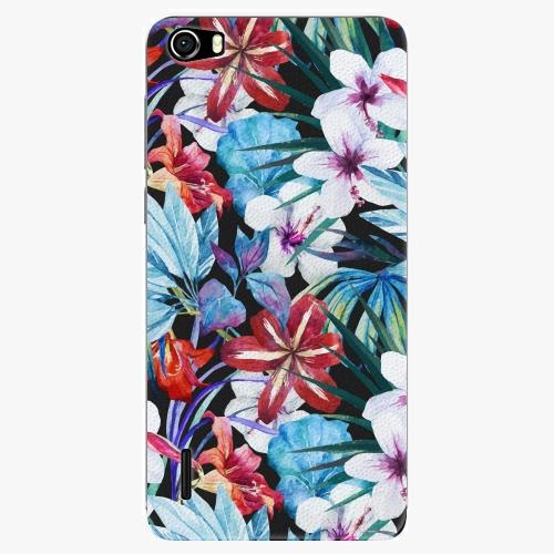 Plastový kryt iSaprio - Tropical Flowers 05 - Huawei Honor 6