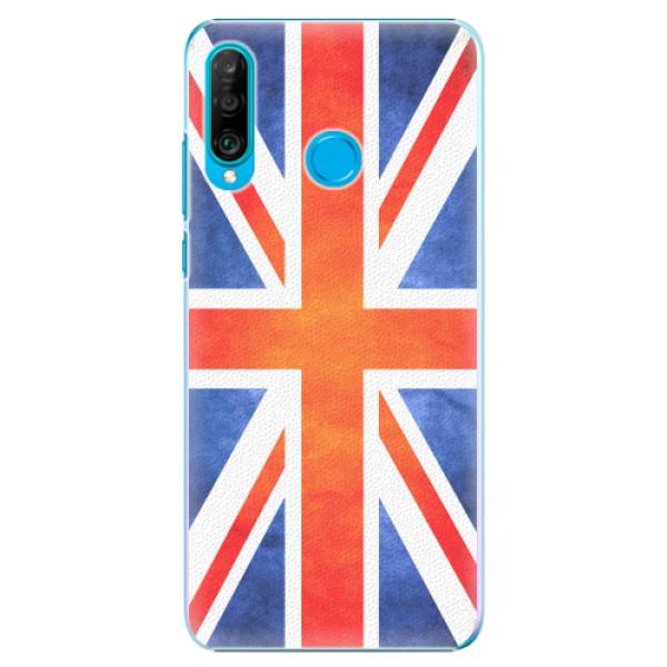 Plastové pouzdro iSaprio - UK Flag - Huawei P30 Lite