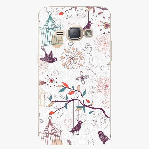 Plastový kryt iSaprio - Birds - Samsung Galaxy J1 2016