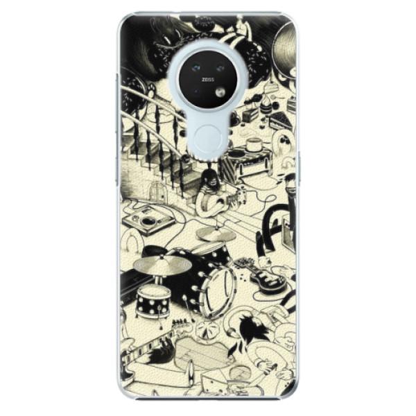 Plastové pouzdro iSaprio - Underground - Nokia 7.2