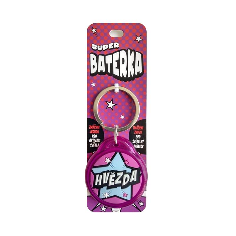 Super baterka - Hvězda