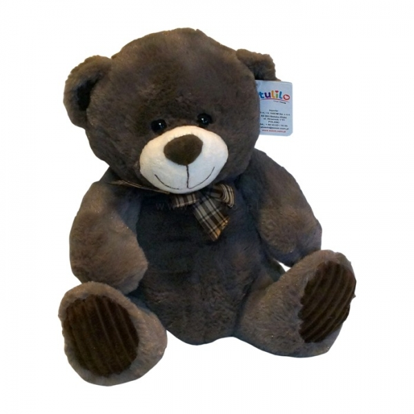 Plyšový medvídek Tulilo, 30 cm - hnědý