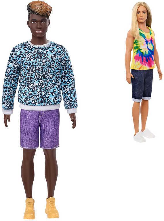 MATTEL BRB Barbie panák trendy model Ken 32cm módní obleček různé druhy