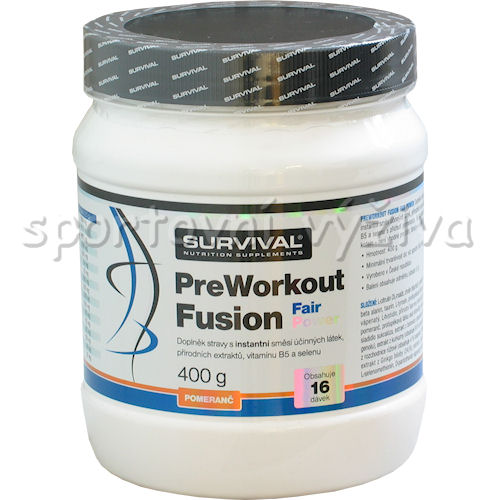 PreWorkout fusion fair power 400g-pomeranc