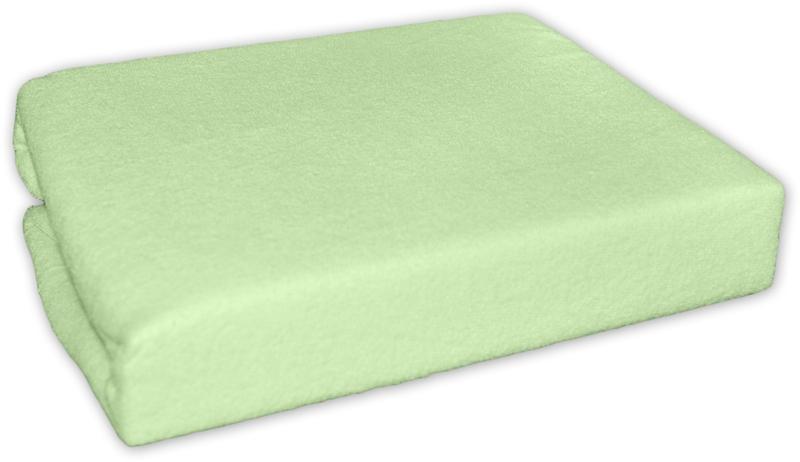 Jersey prostěradlo zelené 120x60